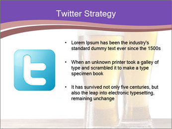 Two glasses of beers PowerPoint Template - Slide 9