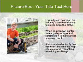 Handsome smiling PowerPoint Template - Slide 13