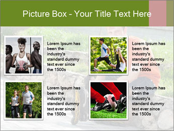 Handsome smiling PowerPoint Template - Slide 14