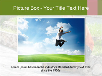 Handsome smiling PowerPoint Template - Slide 16
