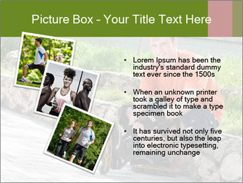 Handsome smiling PowerPoint Template - Slide 17