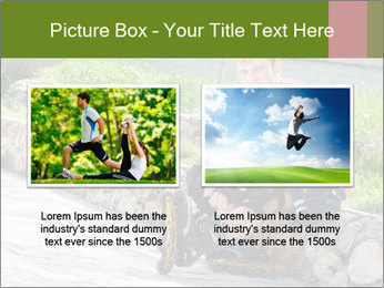 Handsome smiling PowerPoint Template - Slide 18