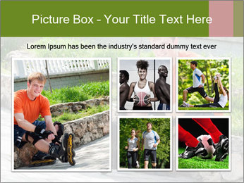 Handsome smiling PowerPoint Template - Slide 19