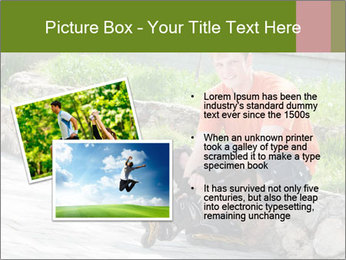 Handsome smiling PowerPoint Template - Slide 20