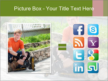Handsome smiling PowerPoint Template - Slide 21