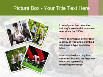 Handsome smiling PowerPoint Template - Slide 23