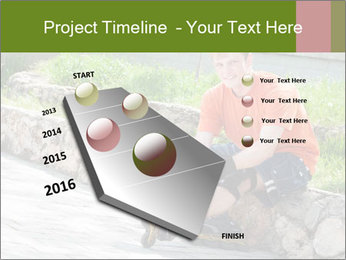 Handsome smiling PowerPoint Template - Slide 26