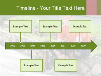 Handsome smiling PowerPoint Template - Slide 28