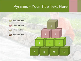 Handsome smiling PowerPoint Template - Slide 31