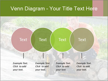 Handsome smiling PowerPoint Template - Slide 32