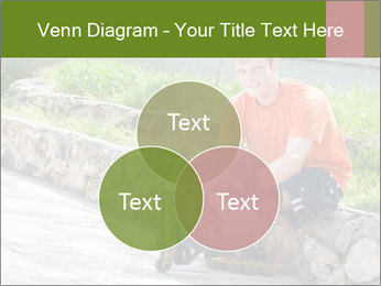 Handsome smiling PowerPoint Template - Slide 33