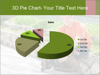 Handsome smiling PowerPoint Template - Slide 35
