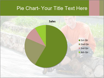 Handsome smiling PowerPoint Template - Slide 36