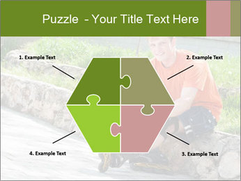 Handsome smiling PowerPoint Template - Slide 40