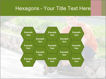 Handsome smiling PowerPoint Template - Slide 44