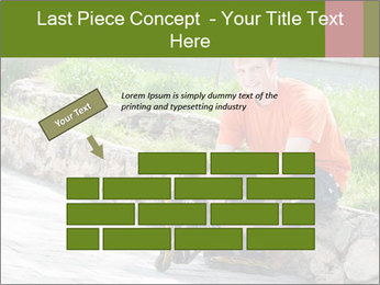 Handsome smiling PowerPoint Template - Slide 46