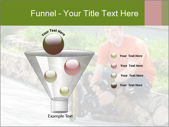 Handsome smiling PowerPoint Template - Slide 63