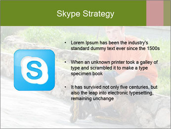 Handsome smiling PowerPoint Template - Slide 8