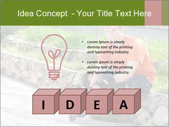 Handsome smiling PowerPoint Template - Slide 80