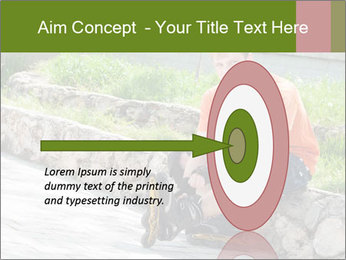 Handsome smiling PowerPoint Template - Slide 83