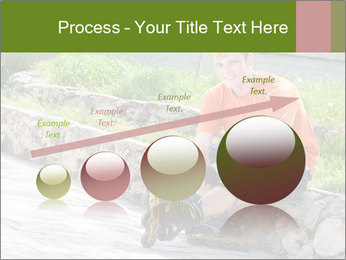 Handsome smiling PowerPoint Template - Slide 87
