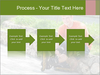 Handsome smiling PowerPoint Template - Slide 88