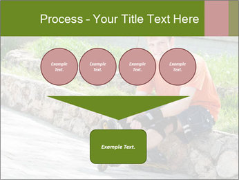 Handsome smiling PowerPoint Template - Slide 93