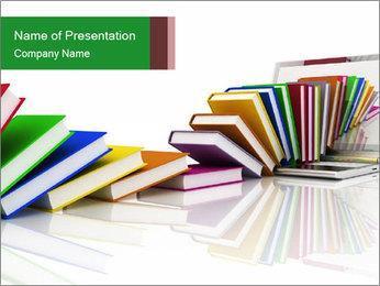 Books PowerPoint Template - Slide 1