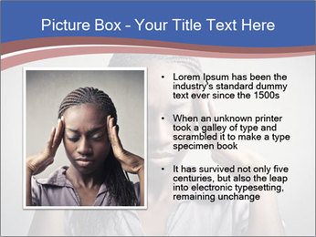 African woman PowerPoint Template - Slide 13