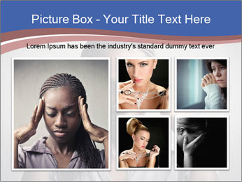 African woman PowerPoint Template - Slide 19