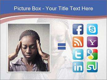 African woman PowerPoint Template - Slide 21