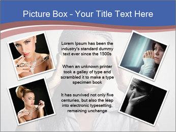 African woman PowerPoint Template - Slide 24