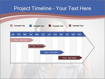 African woman PowerPoint Template - Slide 25