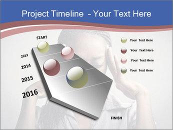 African woman PowerPoint Template - Slide 26