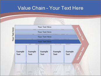 African woman PowerPoint Template - Slide 27