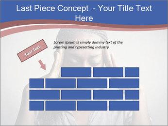 African woman PowerPoint Template - Slide 46