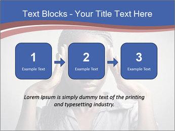 African woman PowerPoint Template - Slide 71