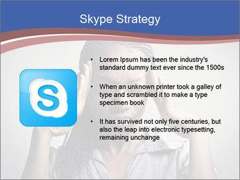African woman PowerPoint Template - Slide 8