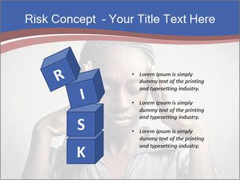 African woman PowerPoint Template - Slide 81