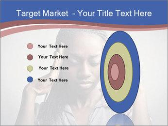 African woman PowerPoint Template - Slide 84