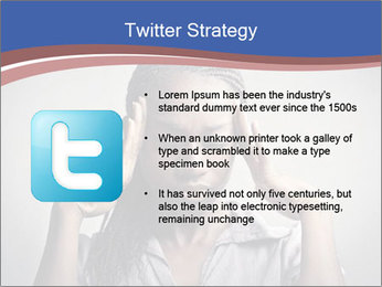 African woman PowerPoint Template - Slide 9