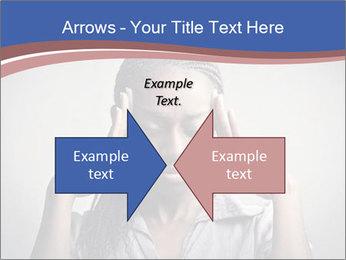 African woman PowerPoint Template - Slide 90