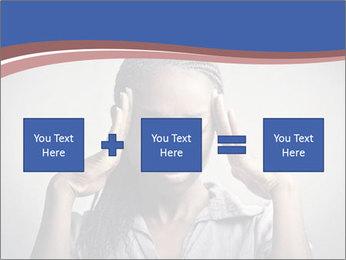 African woman PowerPoint Template - Slide 95