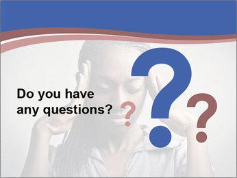 African woman PowerPoint Template - Slide 96