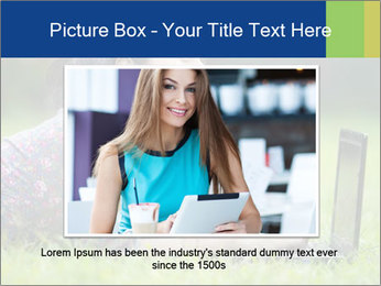 Smiling businesswoman PowerPoint Template - Slide 15