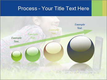 Smiling businesswoman PowerPoint Template - Slide 87