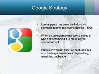 Futuristic robot PowerPoint Templates - Slide 10