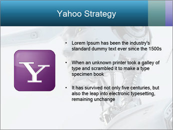 Futuristic robot PowerPoint Templates - Slide 11