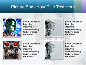 Futuristic robot PowerPoint Templates - Slide 14