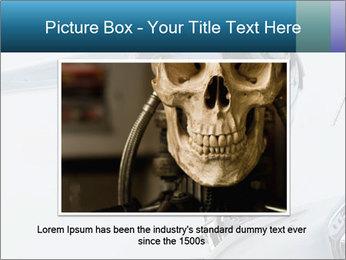 Futuristic robot PowerPoint Templates - Slide 15